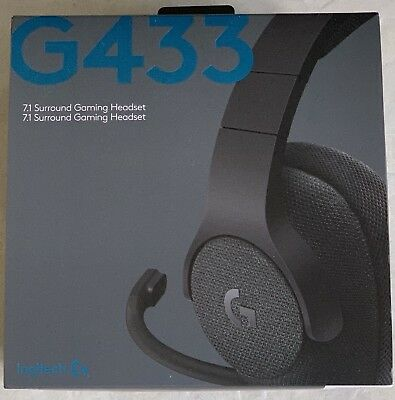 Logitech - G433 Wired 7.1 Gaming Headset for PC, Mac, Nintendo Switch, PS4