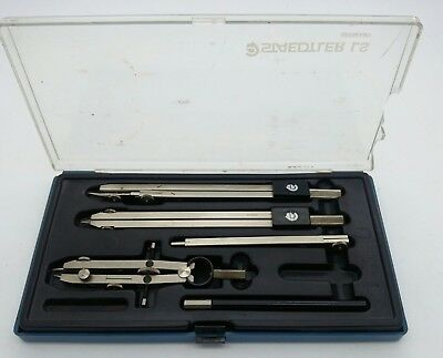 USED STAEDTLER LS Compass Draft Drawing Tool 544 10 Made in Germany