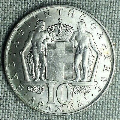 Greece 10 Drachmai, 1968 - 1174