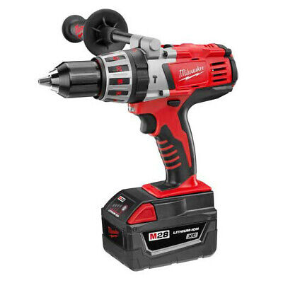 Milwaukee 0726-22 M28 Cordless 1/2 in. Hammer Drill Kit New