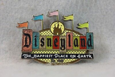 Disney 36984 DLR Disneyland Retro Collection 50th Pin Marquee Sign