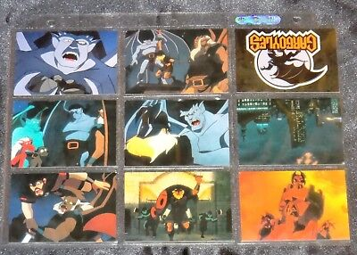 1995 GARGOYLES By Skybox Complete 90 Card Set **RARE** (like Spiderman / X-men)