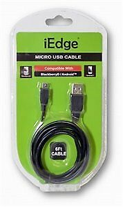6ft Micro USB Case Pack 12 (1996099)