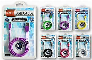 Micro Usb Cable Assorted Case Pack 12 (1917746)