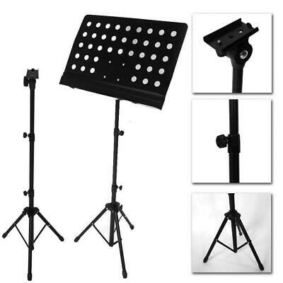 Adjustable Orchestral Conductor Sheet Music Tripod Stand Foldable
