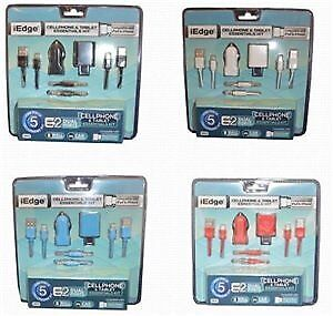 5 in 1 Micro iP6 Home and DC Charger Case Pack 12 (1941342)