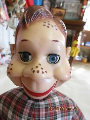 RARE VINTAGE HOWDY DOODY Made by Ideal Ventriloquist Dummy Doll Puppet