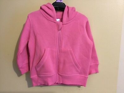 Girls Pink Hoodie Size 0