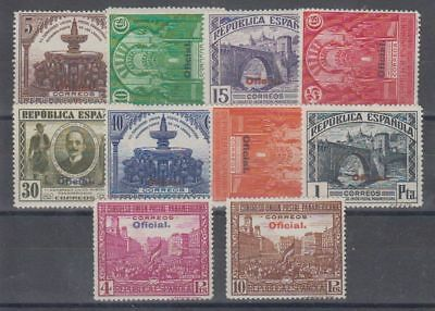 Spain (1931) Mlh New With Stamp Hinges - Edifil 620/29 - Series Full