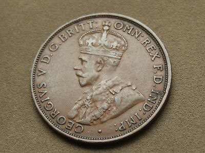 1931 Penny Lower Mintage Predecimal Scarcer Coin 6 Pearls Diamond  #zvb40