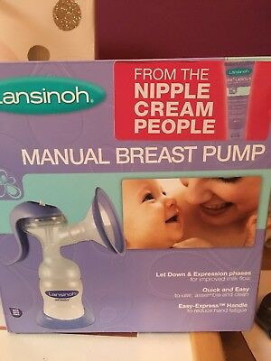 Lansinoh Manual Breast Pump (without Bottle)