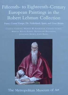 BOOK/GUIDE : 15th to 18th Century European Paintings (16th 17th)