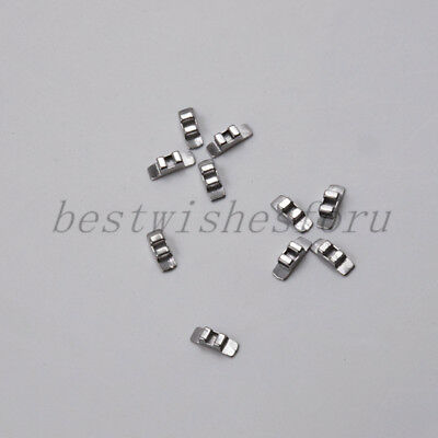 10Pcs Dental Lingual Sheath No Hook Orthodontic Biomedical Stainless Steel