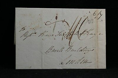 Ireland: 1812 Stampless Cover to London