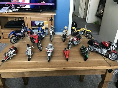 Collection Of Miniture Bikes x13