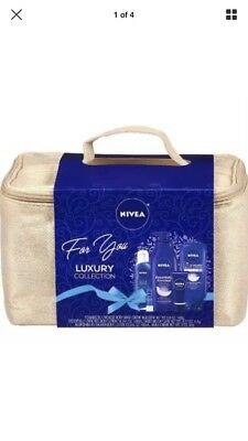 Nivea 5 Piece Luxury Collection Gift Set , Moisturizing Products $30