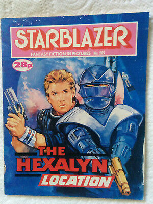 "Starblazer #205 ""THE HEXALYN LOCATION"" published by DC Thomson"