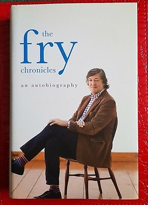 Stephen Fry, The Fry Chronicles, an Autobiography, hardback book