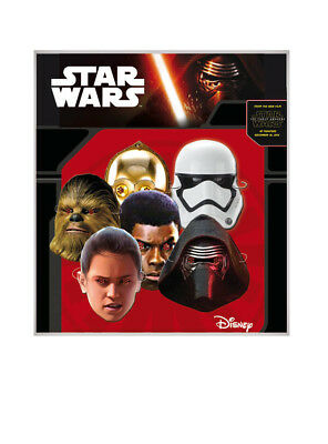 Pack 6 caretas Star Wars