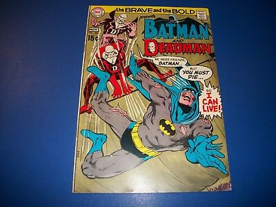 Brave and the Bold #86 Silver Age Neal Adams Deadman VG/F