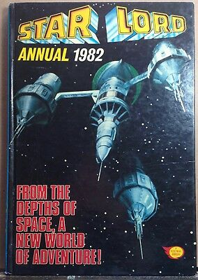 Star Lord Annual 1982 • includes Strontium Dog strip 2000AD