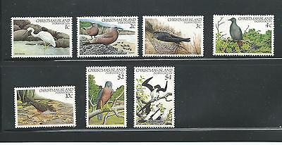 1982 Birds Part set of 7 to $4  All Complete MUH/MNH Value Here