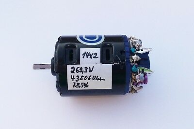 Brushed High End Modified Tuningmotor LRP 14 x 2 Turn mit Daten Vintage