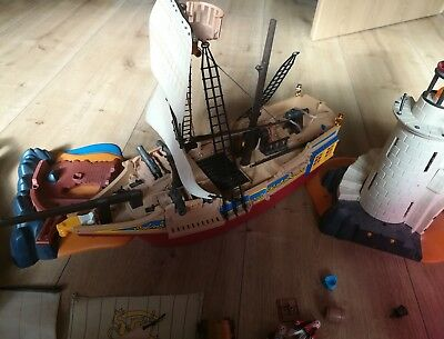 Playmobil Piraten Piratenschiff Konvult Piraten Insel