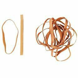 Office Depot Rubber Bands 8 x 120 mm Size 66 - Box of 500g