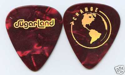 SUGARLAND 2008 Love On The Inside Tour Guitar Pick!!! custom concert stage #1