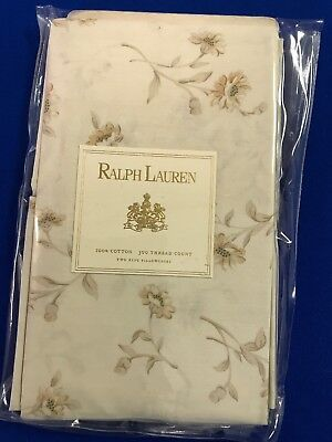 Ralph Lauren Pair Of King Pilowcases BNWT 50 X 91 Cms