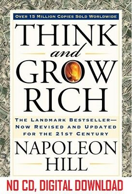 THINK AND GROW RICH - MP3 Audio format audiobook