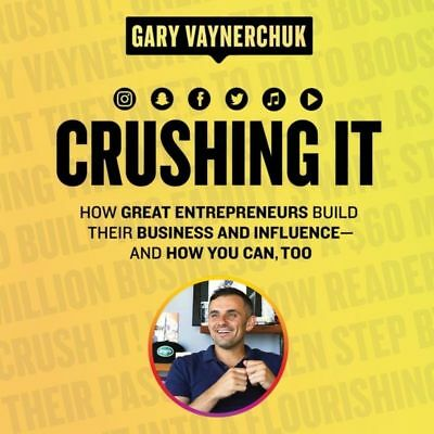 Crushing It! How Great Entrepreneurs Build Business by Gary Vee - MP3 Audiobook