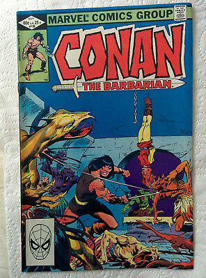 """Conan The Barbarian #138 """"Isle Of The Dead"""" Marvel Comics dated 1982"""