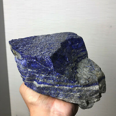 Huge 8 Lb Aaa Top Quality Solid Lapis Lazuli Rough  - From Afghanistan