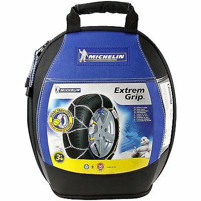 Michelin 89803 Snow Chains M1 Extreme Grip 64 Compatible with ABS