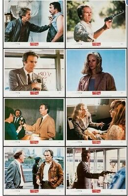 "Sudden Impact (Warner Brothers, 1983). Lobby Card Card Set of 8 (11"" X 14"")"