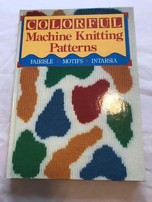 Bk107 Brother Knitting Machine Book Colorful Machine Knitting Patterns Sterling
