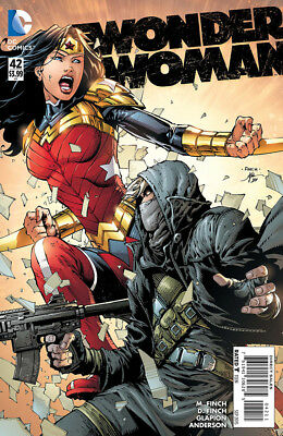 Wonder Woman #42 - Sept 2015 - 1St Print - Bagged And Boarded. Free Uk P+P!