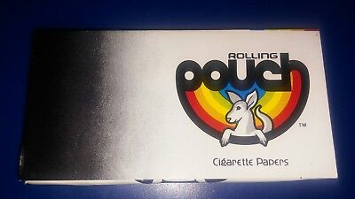 2X KANGAROO Pouch 1-1/2 RICE Rolling Papers (Two Books of 24)