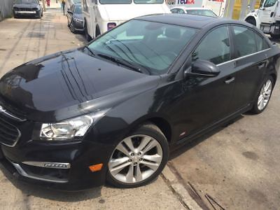 2015 Chevrolet Cruze Leather 2015 CHEVROLET CRUZE 4D SEDAN LTZ Fully loaded RS  SUN ROOF  LEATHER HEATED SEAT