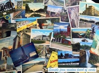 Vintage postcards ~ 30 RANDOM Postcards from the 1920s to '70s - Historic