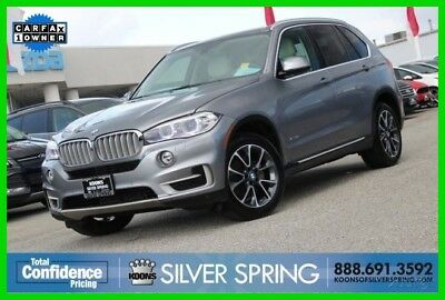 2015 BMW X5 xDrive35i 2015 xDrive35i Used Turbo 3L I6 24V Automatic AWD SUV Moonroof Premium