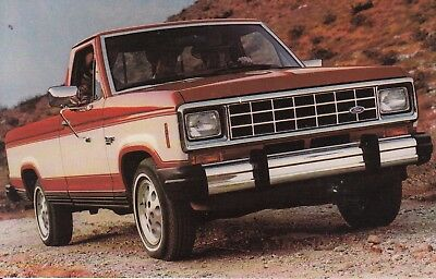 1983 FORD RANGER PICKUP TRUCK Car Automobile