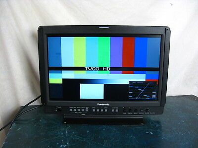 Panasonic Bt-Lh1700Wp Hd High Definition Color Video And Waveform Monitor