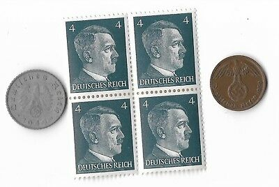 Rare Old German WWII WW2 Coin Stamp Great War Collection Europe History Lesson