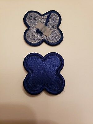 US Army Original WWII 88th Infantry Fighting Blue Devil Division Shoulder Patch