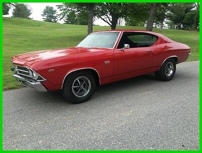 1969 Chevrolet Chevelle SS 396 1969 SS 396 Used Manual Coupe