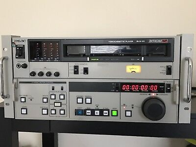 SONY BVW-65 Videocassette Player