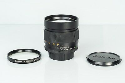 Carl Zeiss Planar T* 85mm F1.4 MM Contax